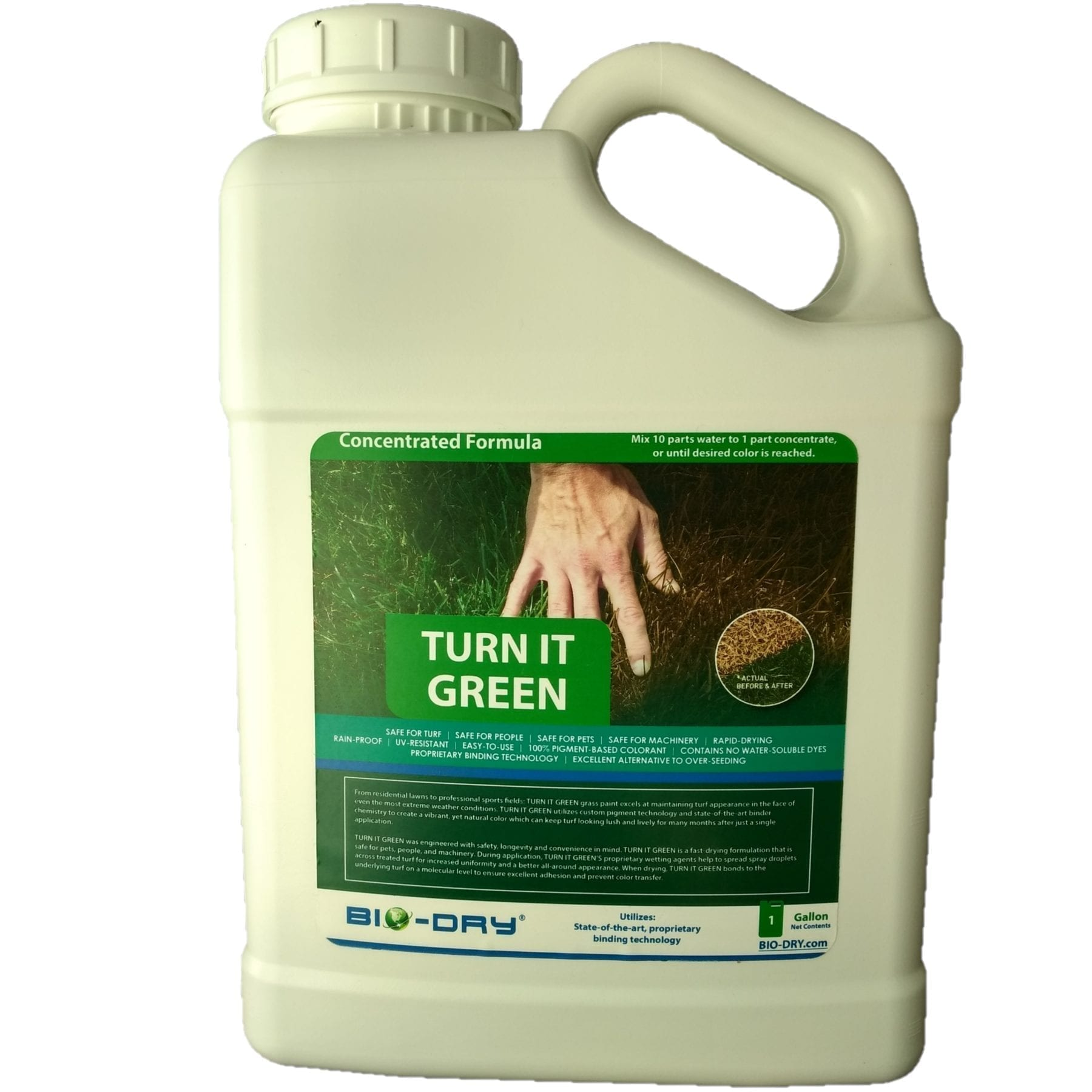 TURN IT GREEN Turf Paint Concentrate 1 Gallon