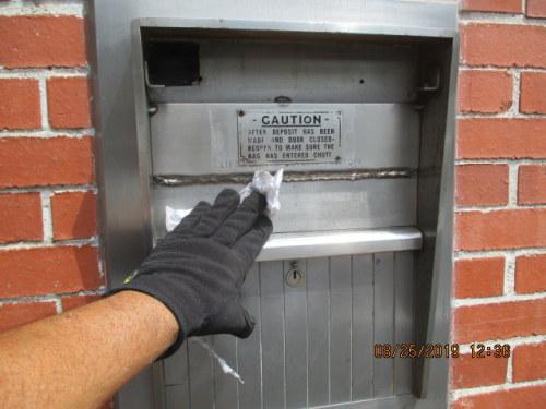 Bio-Dry Deposit Box Cleaning