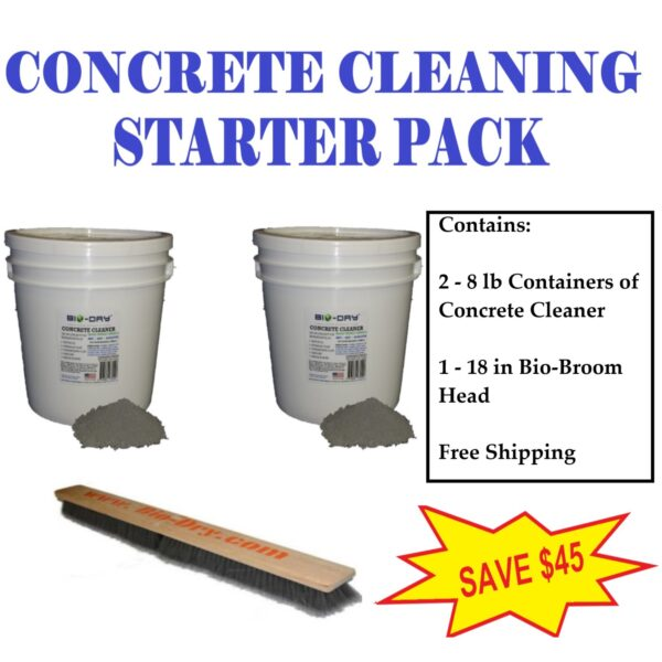 Concrete Cleaning Business Do It Yourself Kit